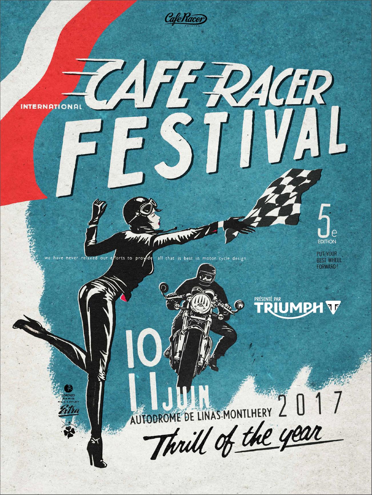 Cafe Racer Festival  Inscription